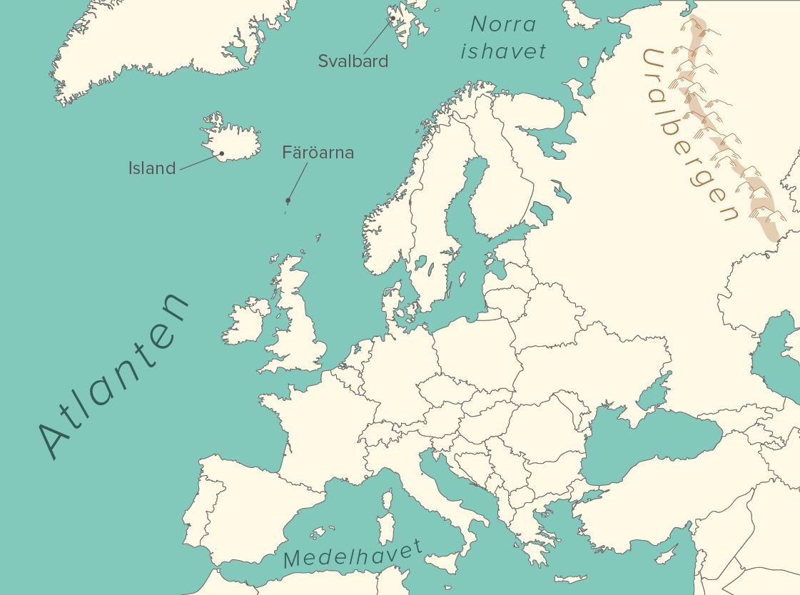 Karta Europa Tidszoner.Europa Laromedel Till Lektion I Geografi Ak 4 5 6